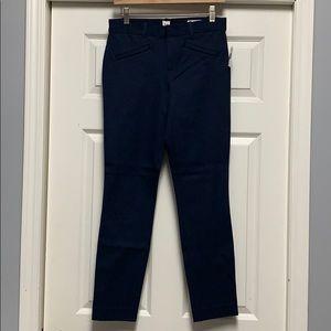 Navy Gap Skinny Ankle Pants size 4L